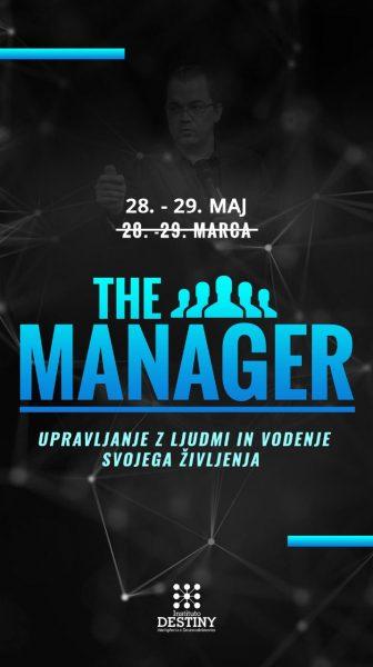 the manager notranja maj