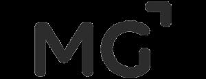 mg logo sivi
