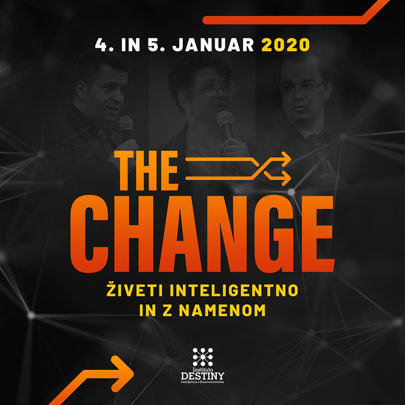 the change logo