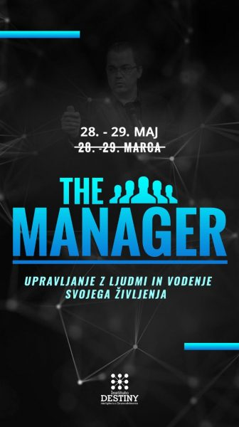 the manager notranja maj